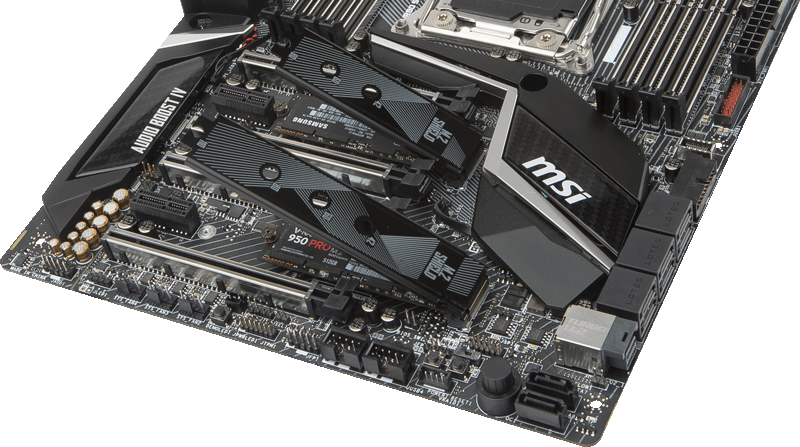 MSI X299 M.2 Shield