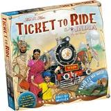 Asmodee Ticket to Ride - India/Zwitserland Uitbreiding