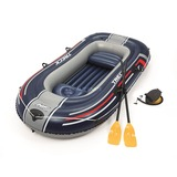 Bestway Boot Raft Hydro-Force Set 250 opblaasboot Blauw/grijs