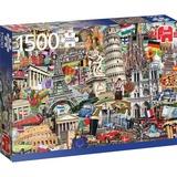 Jumbo Best of... Europese steden puzzel 1500 stukjes