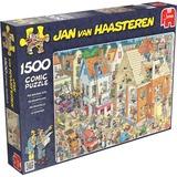 Jumbo Jan van Haasteren - De bouwplaats puzzel 1500 stukjes