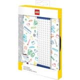LEGO Classic - Notitieboek met band (Wit)