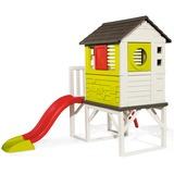 Smoby Speelhuis op palen met glijbaan
