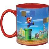 Paladone Super Mario: Heat Change Mug mok Rood