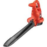 BLACK+DECKER Tuinruimer GW2810 bladzuiger / bladblazer Rood/zwart