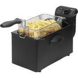 Bestron AF357B Friteuse Cool Zone frituurpan Zwart, 3,5 Liter