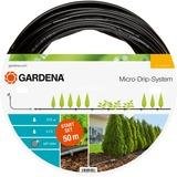 GARDENA Micro-Drip-System startset L voor rijplanten (13013-20) druppelsysteem Zwart