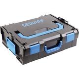 Gedore L-BOXX 136 met frontgreep Zwart/blauw, 2823691
