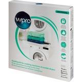 Wpro Stapelset Wasmachine/ Wasdroger 60cm bevestiging Wit