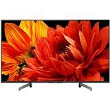 """Sony KD-49XG8399BAEP 49"""" Ultra HD lcd-tv Zwart/donkerzilver"""