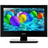"""Xoro PTL 1330 13.3"""" lcd-tv Zwart"""