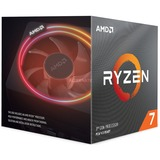 AMD Ryzen 7 3700X socket AM4 processor Unlocked, Wraith Prism with RGB LED, Boxed