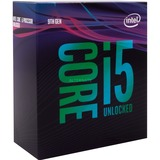 "Intel® Core i5-9600K, 3.7 GHz (4.6 GHz Turbo Boost) socket 1151 processor ""Coffee Lake-R"", Unlocked, WoF"
