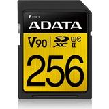 ADATA Premier ONE SDXC, 256 GB geheugenkaart UHS II U3 Class 10