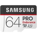 Samsung PRO Endurance microSDXC kaart, 64GB geheugenkaart
