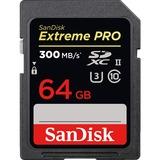 SanDisk Extreme Pro SDXC UHS-II, 64 GB geheugenkaart UHS-II (U3), Class 10