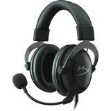 HyperX Cloud II Gun metal, 7.1 virtual surround headset Zwart/grijs, HyperX, 53mm, Gaming, 7.1, 3.5mm/USB