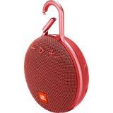 JBL Clip 3 Portable luidspreker Rood, Bluetooth, Spatwaterdicht