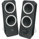 Logitech Z200 Multimedia Speakers pc-luidspreker Zwart
