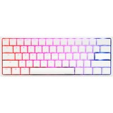Ducky One 2 Mini RGB Pure White DKON1861ST gaming toetsenbord Wit, MX Brown, US Lay-out, RGB leds, 60%, PBT Double Shot