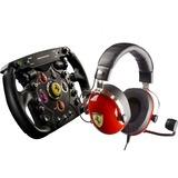 Thrustmaster Scuderia Ferrari Race Kit stuurwiel Zwart/rood, PlayStation 3, PlayStation 4, Xbox One, PC