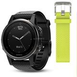 Garmin f?nix 5S smartwatch Zwart, Sapphire, 42mm, Bluetooth Smart, ANT+, Wi-Fi