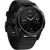 Garmin fēnix 5 smartwatch Zwart, Sapphire, 47mm, Bluetooth Smart, ANT+, Wi-Fi