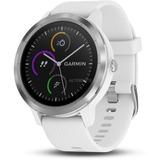 Garmin vívoactive 3 - RVS smartwatch Wit/roestvrij staal, siliconen, roestvrij staal