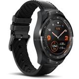 Tic watch Pro Shadow Black smartwatch Zwart
