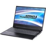 "ALTERNATE Thunderstorm GTX1650-i7-1TBSSD-8GB gaming laptop, 15.6""  laptop Zwart, 1 TB SSD, GTX 1650, WLAN, Win 10"