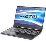 "ALTERNATE Thunderstorm RTX2070-i9-1TBSSD-16GB gaming laptop, 15.6""  laptop Zwart, 1 TB SSD, 2 TB HDD, RTX 2070, WLAN, 4K, Win 10"