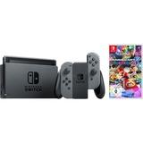 Nintendo Switch + Mario Kart 8 Deluxe spelconsole Grijs