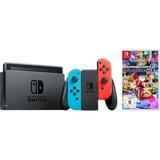 Nintendo Switch + Mario Kart 8 Deluxe spelconsole Neonrood/neonblauw