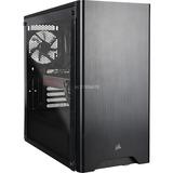 ALTERNATE Thunderstorm GR950 pc-systeem Zwart/transparant, 16 GB, Radeon RX 5700 XT, LAN, Windows 10