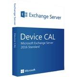 Microsoft Exchange Server 2016 Standard DCAL software Engels, 1 Device licentie