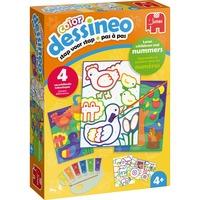 Jumbo Dessineo Color - Schilderen op nummer - Boerderij verfdoos