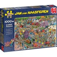 Jumbo Jan van Haasteren - De bloemencorso puzzel 1000 stukjes