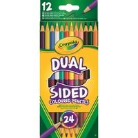 Crayola 12 Duo-kleurpotloden tekenen