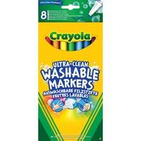 Crayola 8 Viltstiften dunne punt Ultra-Clean tekenen