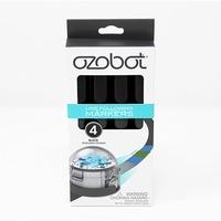 Ozobot Marker Set Zwart, 4 stuks stift