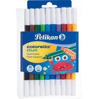 Pelikan Colorella duo C 407, 10 stuks set