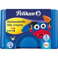 Pelikan Waskrijtjes 666/8 WL, 8 kleuren set
