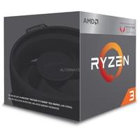AMD Ryzen 3 2200G, 3,5 GHz (3,7 GHz Turbo Boost) Wraith Stealth cooler, Radeon Vega 8 iGPU