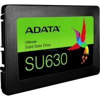 ADATA Ultimate SU630, 240GB SSD Zwart, SATA 600, 3D QLC, ASU630SS-240GQ-R