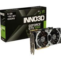 INNO3D  Inno6GB D5X GTX 1060 Gaming OC grafische kaart