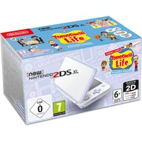 Nintendo New 2DS XL spelconsole Wit/lavendel, Incl. Tomodachi Life
