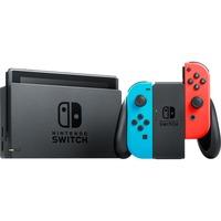 Nintendo Switch Neon-Rood/Neon-Blauw spelconsole Neon rood/neon blauw