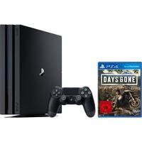 Sony PlayStation 4 Pro, 1 TB + Days Gone spelconsole Zwart, CUH-7216B
