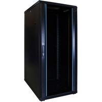 DSI 27U serverkast met glazen deur - DS6827 server rack Zwart, 600 x 800 x 1400mm