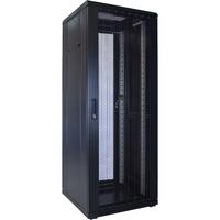 DSI 32U serverkast met geperforeerde deur - DS6032PP server rack Zwart, 600 x 1000 x 1600mm